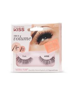 Soft neutral makeup with long & precisely separated lashes | my favorite kind of falsies! ♥ #KISSLashes #Influenster #JingleVoxBox @Influenster @KissProducts