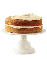 Spice Cake with Bourbon-Pecan Frosting // More Layer Cakes: http://www.foodandwine.com/slideshows/layer-cakes #foodandwine