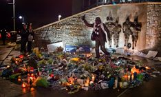 Joe Paterno Memorial at Beaver Stadium - William Ames Photography