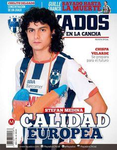 ¡Conoce más de Stefan Medina en la Revista #Rayados del mes de octubre!  Encuéntrala en #TiendaRayados