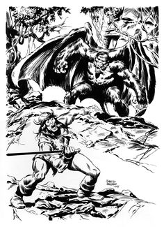 """Howard's tale """"The Queen of the Black Coast"""" featuring Conan the Cimmerian. Red Sonja, Fantasy Story, Sci Fi Fantasy, Conan The Destroyer, John Buscema, Conan The Barbarian, Sword And Sorcery, Pulp Fiction, Live Action"""