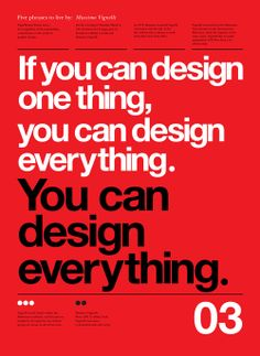 Dead at 83, Modernist Graphic Designer Massimo Vignelli