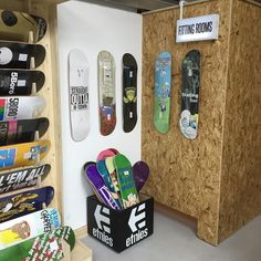 Instagram #skateboarding photo by @htownskates - This is rad display of our decks @source_skate_shop #skateboarding #skatelife #skateeverydamnday #sourcepark #htownskates #hts #etnies #thrasher #skatecrunch #shreddit #skatephotofeed. Support your local skate shop: SkateboardCity.co