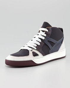 Lanvin Hi Top Sneaker.