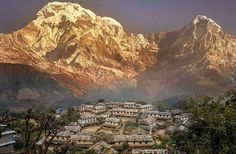 #Ghandruk #Nepal Nepal, Mount Everest, Grand Canyon, Mountains, Nature, Travel, Life, Naturaleza, Viajes