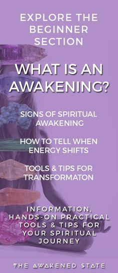 What is an Awakening? How do I know the Signs I'm awakening? What do I tell when energy is shifting in my life? I got your back, explore my archive of tools, tips and insight into the Beginner's journey of Spiritual Awakening and how to Spiritual Awakening Stages, Awakening Quotes, Spiritual Enlightenment, Spiritual Growth, Spiritual Quotes, Spiritual Healer, Hygge, Ascension Symptoms, Spiritual Development