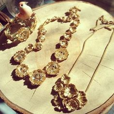 All that is gold does glitter - golden lily pond luxe jewels