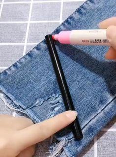 Diy Clothes Life Hacks, Diy Clothes And Shoes, Clothing Hacks, Sewing Clothes, Dress Sewing, Barbie Clothes, Sewing Basics, Sewing Hacks, Sewing Tutorials