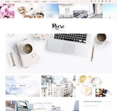 Reese - Wordpress Theme by Eclair Designs on @Graphicsauthor