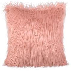 Lososová chlpatá dekoračná obliečka na vankúš 45x45 Throw Pillows, Room, Toss Pillows, Cushions, Decor Pillows, Decorative Pillows, Bedroom