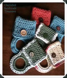 Crochet Towel Holder: free crochet pattern ♡ Teresa Restegui http://www.pinterest.com/teretegui/ ♡