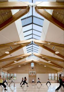 6 Vibrant Tips AND Tricks: Roofing Architecture Industrial roofing terrace wood.Shed Roofing Yards roofing terrace porches. Timber Architecture, Architecture Details, Gymnasium Architecture, Church Architecture, Architecture Interiors, Classical Architecture, Landscape Architecture, Timber Structure, Roof Design