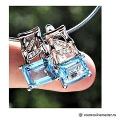 Materials: Topaz, refined topaz, silver, silver-related, cubic zirconium Size: 17 * 8mm. ##handmade Topaz Earrings, Silver Earrings, Handmade, Accessories, Shopping, Free, Products, Hand Made, Gadget