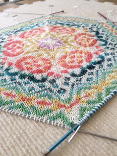 Ravelry: JanHicks' Persian Dreams Afghan