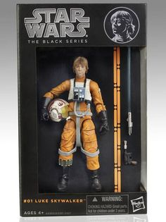 New Line of 6 Inch Star Wars Black Series Action Figures From Hasbro