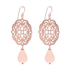 Leaf Ohrringe Oriental Flower rosé vergoldet Tropfen - Art.-Nr.: OH5250   #Leafschmuck #Leafjewelry #jewelry #rose #rosé #gold #fashion #style #stylish #cute #beautiful #beauty #jewelry #jewels #jewel  #fashion #gems #gem #gemstone #bling #stones #stone #trendy #accessories #love #crystals #ootd #fashionista #accessories #fashionjewelry #look #outfit #earrings