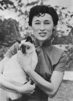 Han Suyin  pinyin: Hán Sùyīn; 12 September 1916 or 1917 – 2 November 2012)was the pen name of Elizabeth Comber, born Rosalie Matilda Kuanghu Chou  (pinyin: Zhōu Guānghú). She was a China-born Eurasian, a physician, and author of books in English and French on modern China, novels set in East and Southeast Asia, and autobiographical memoirs which covered the span of modern China.[wikipedia]