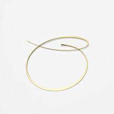 Kathrin Sattele,     brooch      Open Space,     750 gold