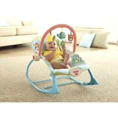 Fisher-Price Infant-to-Toddler Rocker -   This is my favorite because they can use it as an infant and much later into toddler years. We had to get two because Eli wasn't ready to give his up when Zach was born.