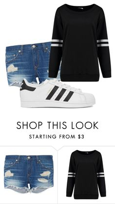 """""""Untitled #10104"""" by xxxlovexx ❤ liked on Polyvore featuring rag & bone and adidas Originals"""