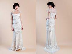 Wedding gowns via Intique & Co Bridal Boutique in Melbourne (instagram: the_lane)