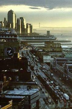 Louis Stettner - Lower Manhattan 2003