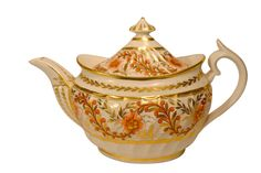 Jane Austen or her characters might have poured from a teapot like this…