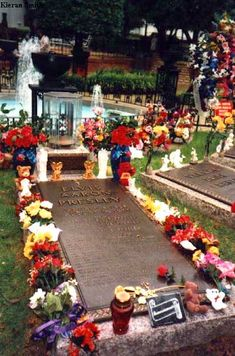 Elvis probably has one of the most visited graves in America.