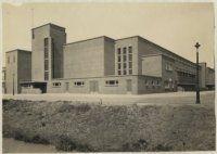 don boscoschool en openbare leeszaal paets van troostwijkstraat den haag 1920