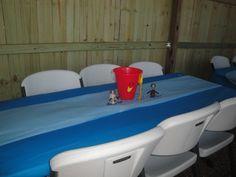 Blues Clues Table Decorations