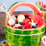 Beach Bucket Watermelon Basket