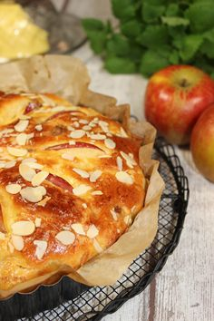 Apfel-Zimt-Brioche