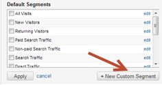 Analytics For The New Social Media Manager (Hint: Use Advanced Segments in Google Analytics.)