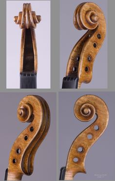"""1654 Nicolo Amati Violin    """"Brookings"""" from Library of Congress Collection"""
