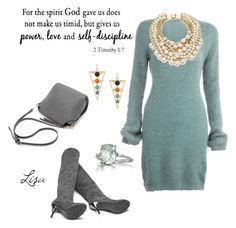"""""""The spirit of God"""" by coolmommy44 ❤ liked on Polyvore featuring Kate Spade and Belk & Co."""