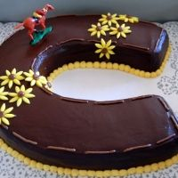 Preakness cake! Or the groom's (no pun intended) cake for wedding...