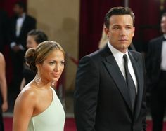 Pin for Later: These Photos of Jennifer Lopez and Ben Affleck Will Take You Way Back  The pair got all dressed up for the Oscars in 2003.