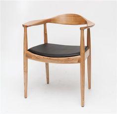 Klasyczne drewniane krzesło z drewn naturalnego President Outlet, Dkwadrat - Meble, 449zł