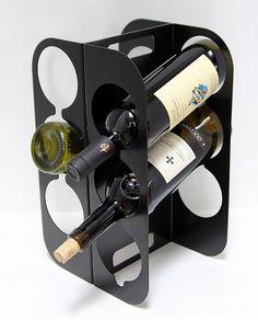 Wine rack CANTINA www.otoprojekt.eu Industrial Design, Wine Rack, Gadgets, Storage, Lovers, Decorations, Home Decor, Self, Fine Dining