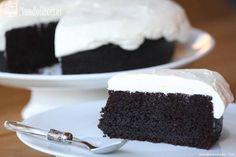 Tarta de chocolate y Guinness - Chocolate Guinness Cake - MundoRecetas.com