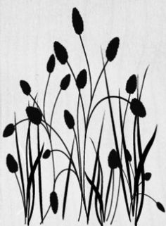 . Stencil Patterns, Stencil Art, Stencil Designs, Stencils, Flower Silhouette, Silhouette Art, Outline Drawings, Easy Drawings, Hand Embroidery Designs