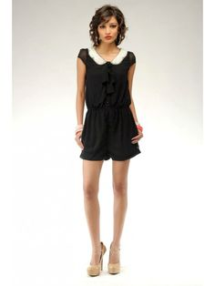 Embellished Pearl Playsuit / Rs.2190