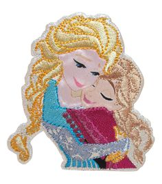 Wrights Disney Sisters Frozen Iron - On Applique