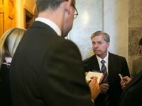 LINDSEY GRAHAM: PAUL RYAN IS PRESIDENTIAL MATERIAL.  Sen. Lindsey Graham (R-SC) said he thinks that House Budget Committee chairman Rep. Paul Ryan (R-WI) is presidential material because of his work on the spending deal he cut with Senate Budget Committee chairwoman Sen. Patty Murray (D-WA).