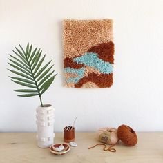 You can now find this latch hook wall hanging I designed as a kit for @weareknitters in their shop! It includes everything you need to learn this fun medium including a pattern, canvas, latch hook, and yarn in colors of your choice! Rachel Denbow (@smileandwave) • Instagram photos and videos Smile And Wave, My Design, Kit, Photo And Video, Canvas, Medium, Colors, Videos, Wall