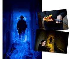 One of our favourite creative portrait ideas is also cheap and easy to achieve. In this tutorial we'll show you how to create spooky sci-fi portraits by using EL-wire for coloured flame effects Light Painting Photography, Photography Guide, Photoshop Photography, Photography Tutorials, Creative Photography, Portrait Photography, Camera World, Slow Shutter, Shutter Speed