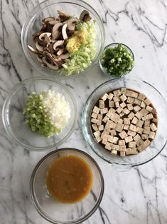 Moo Shu Vegetable Lettuce Wraps with Peanut Sauce Recipe Tempeh Recipe, Peanut Sauce Recipe, Peanut Butter Recipes, Sauce Recipes, Stuffed Mushrooms, Pamela Salzman, Marinated Tofu