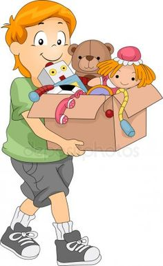 Box of Toys Tree Clipart, Vector Clipart, Free Illustrations, Pikachu, Family Guy, Clip Art, Toys, Fictional Characters, Google Search