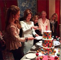 Queen Silvia and Princess Madeleine of Sweden