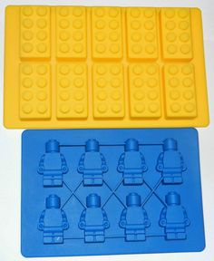 Lego Candy Molds via Pams Party & Practical Tips: The LEGO Movie Party Ideas